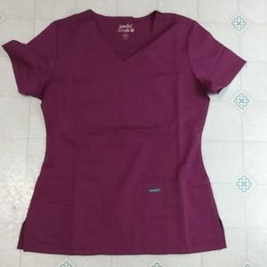 Burgundy/Wine scrubs